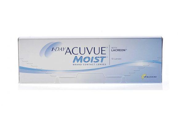 1 Day Acuvue Moist (10 pz), Lenti a contatto giornaliere