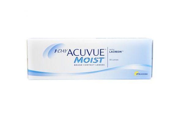 1 Day Acuvue Moist (30 pz), Lenti a contatto giornaliere