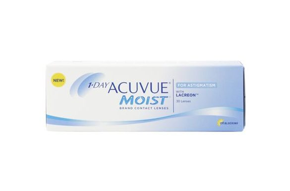 1 Day Acuvue Moist For Astigmatism (30 pz), Lenti giornaliere toriche