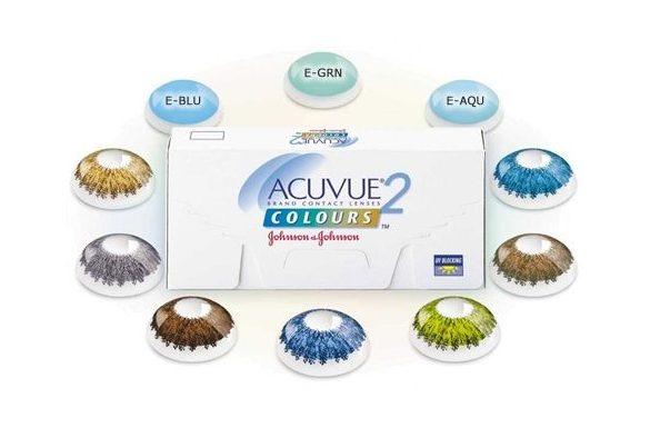 Acuvue 2 Colours (6 pz), Lenti a contatto colorate quindicinali - prodotto fuori produzione