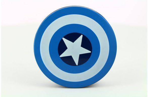 Kit custodia lenti a contatto Captain America, Colore: blu