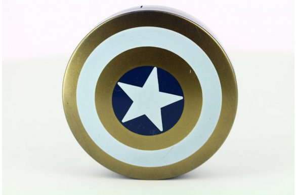 Kit custodia lenti a contatto Captain America, Colore: oro