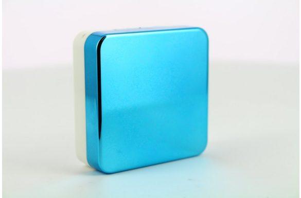 Kit custodia lenti a contatto lucide, Colore: blu
