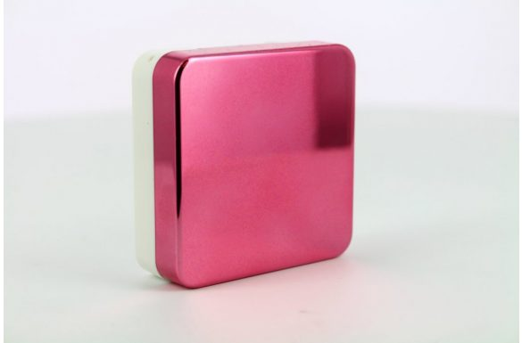 Kit custodia lenti a contatto lucide, Colore: rosa