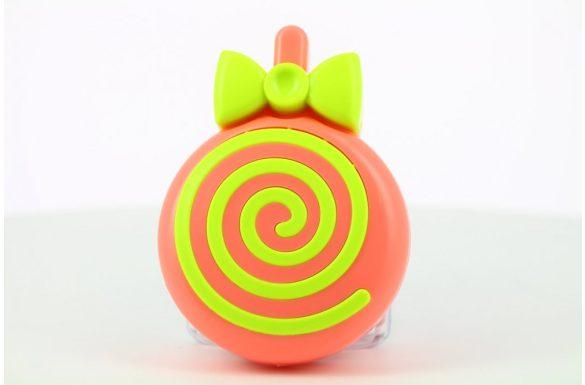 Kit custodia lenti a contatto lollipop, Colore: rosso e giallo