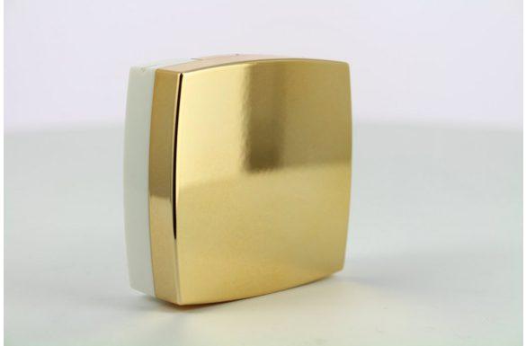 Kit custodia lenti a contatto metallizzato, Colore: oro