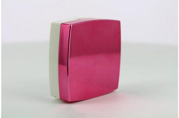Kit custodia lenti a contatto metallizzato, Colore: amaranto
