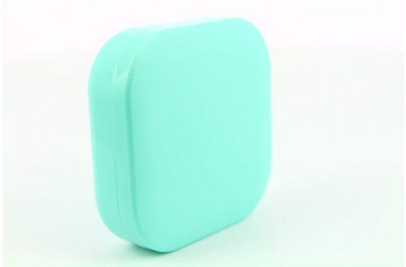 Kit custodia lenti a contatto neutro, Colore: verde