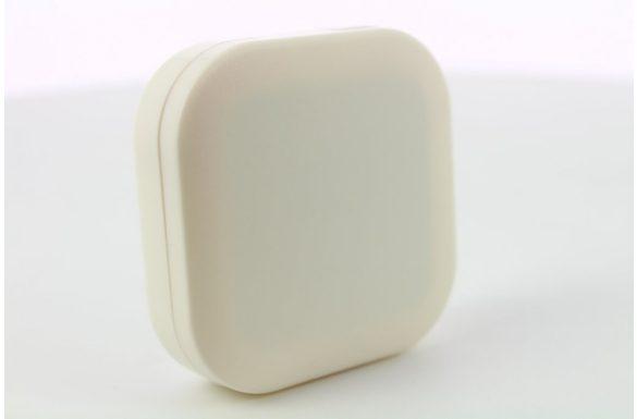 Kit custodia lenti a contatto neutro, Colore: bianco