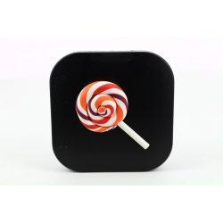 Kit custodia lenti a contatto lollipop, Colore: nero