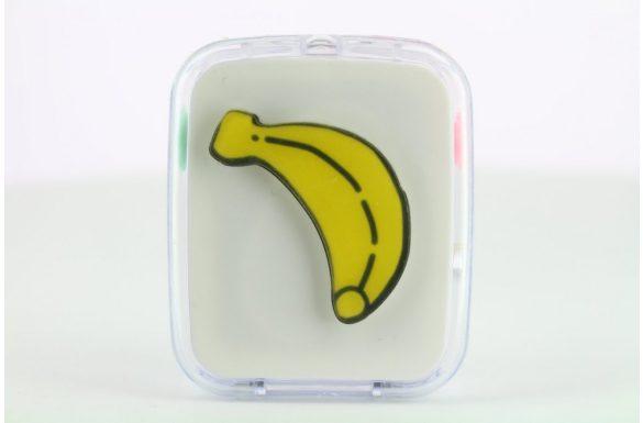 Kit custodia lenti a contatto frutta, Colore: banana