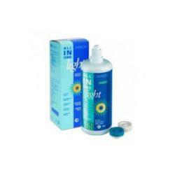 All in One Light (380 ml), Soluzione per lenti a contatto + 1 portalenti - prodotto fuori produzione