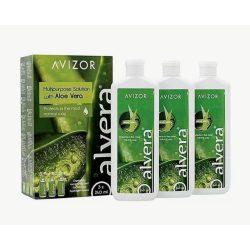 Alvera (3x240 ml),  Soluzione per lenti a contatto + 3 portalenti