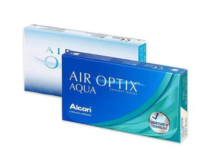 Air Optix Aqua (3 pz), Lenti a contatto mensili