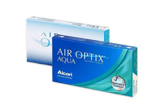 Air Optix Aqua (6 pz), Lenti a contatto mensili
