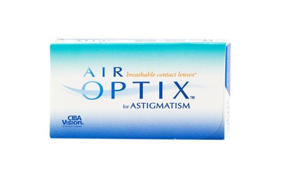 Air Optix For Astigmatism (6 pz), Lenti toriche mensili