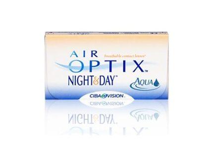 Air Optix Night & Day Aqua (3 pz), Lenti a contatto mensili
