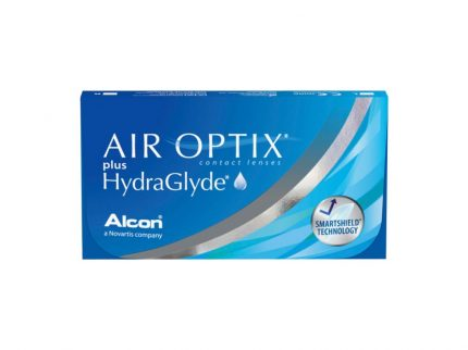 Air Optix Plus HydraGlyde (3 pz), Lenti a contatto mensili