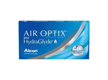 Air Optix Plus HydraGlyde (6 pz), Lenti a contatto mensili