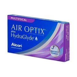 Air Optix Plus HydraGlyde Multifocal (x3)