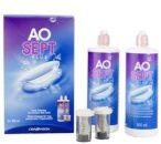 AoSept Plus (2x360 ml), Soluzione per lenti a contatto + 2 portalenti - prodotto fuori produzione