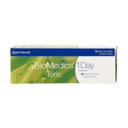 BioMedics 1 Day Toric (30 pz), Lenti a contatto toriche giornaliere - prodotto fuori produzione