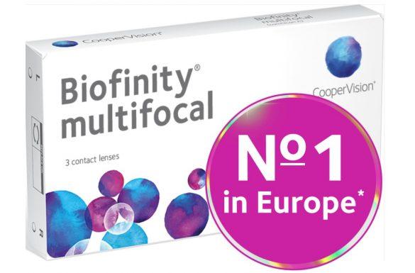 Biofinity Multifocal (3 pz), Lenti a contatto mensili
