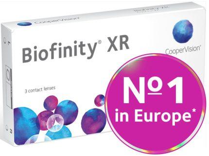 Biofinity XR (3 pz), Lenti a contatto mensili