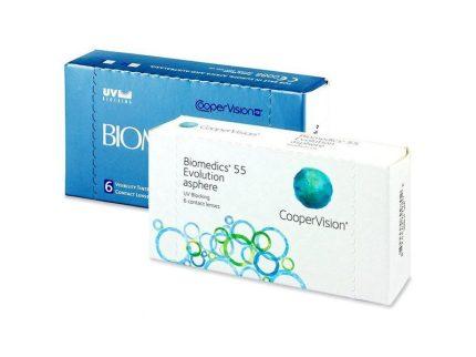 Biomedics 55 Evolution (6 pz), Lenti a contatto mensili
