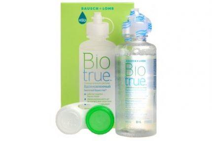 Biotrue (120 ml), Soluzione per lenti a contatto + 1 portalenti