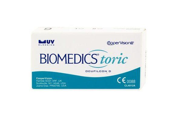 Biomedics Toric (3 pz), Lenti a contatto mensili - prodotto non disponibile