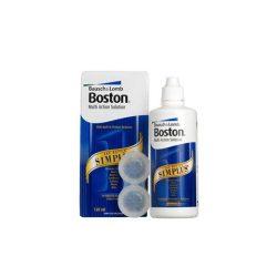 Boston Simplus (120 ml), Soluzione per lenti a contatto + 1 astuccio portalenti