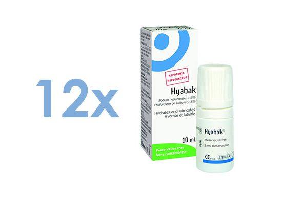 Hyabak 0,15 (12x10 ml)
