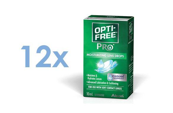 Opti-Free Pro Green (12x10 ml)