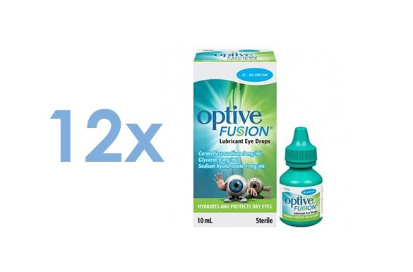 Optive Fusion (12x10 ml)