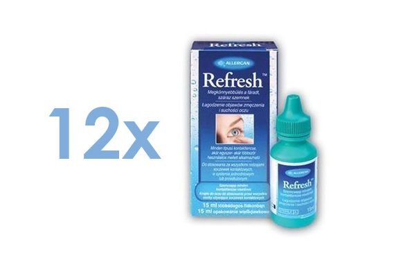 Refresh (12x15 ml)