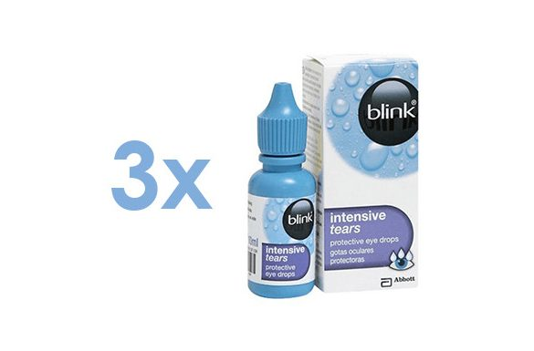 Blink Intensive Tears (3x10 ml)