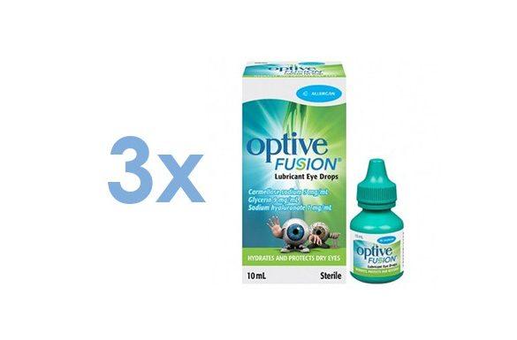 Optive Fusion (3x10 ml)