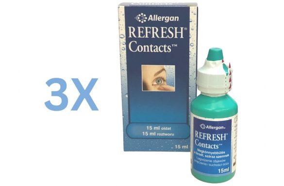 Refresh (3x15 ml)