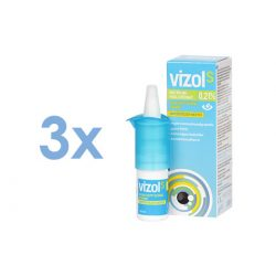 Vizol S 0.21% (3x10 ml)
