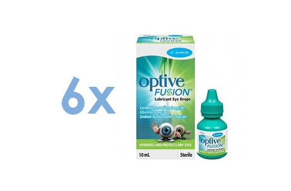 Optive Fusion (6x10 ml)