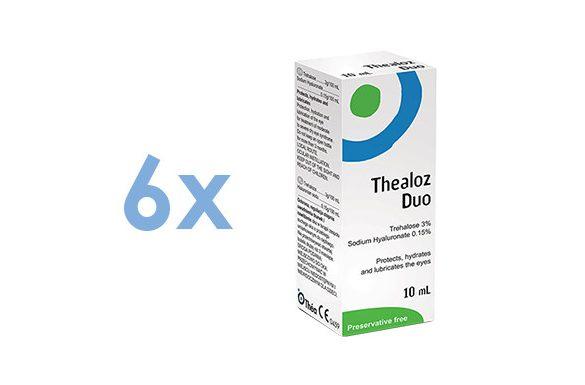 Thealoz Duo (6x10 ml)