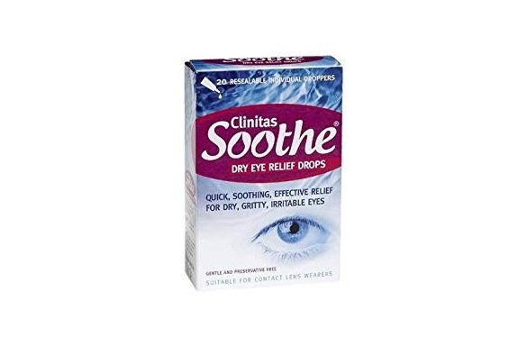 Clinitas Soothe Dry Eye Relief Drops (x20), Collirio