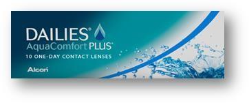 Dailies AquaComfort Plus (10 pz), Lenti a contatto giornaliere