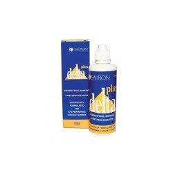 Delta Contenitore (110 ml), Soluzione per lenti a contatto + 1 portalenti - prodotto fuori produzione