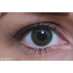 ColourVUE Verde Monostrato (2 pz) - Lente a contatto accentuata trimestrale