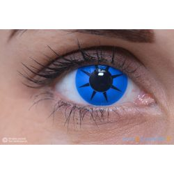 ColourVUE Crazy Party Blue Star (2 pz) - Lenti cosmetiche trimestrali coprenti