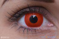 ColourVUE Crazy Diavolo Rosso (2 pz) - Lente cosmetica trimestrale opaca