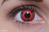 ColourVUE Sharingan Sasuke (2 pz) - Lenti a contatto trimestrali colorate