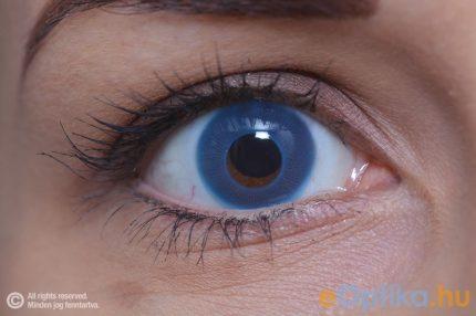 ColourVUE Party UV Blu (2 pz) - Lente cosmetica annuale coprente